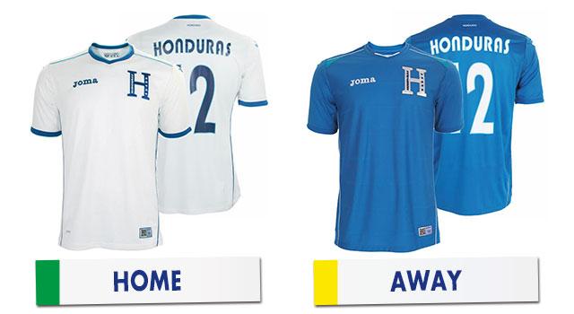 ブラジルワールドカップ ホンジュラス代表ユニホーム