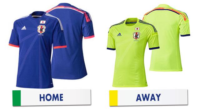 ブラジルワールドカップ 日本代表ユニホーム