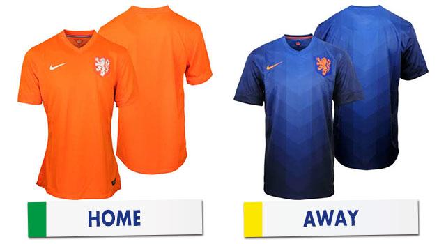 ブラジルワールドカップ オランダ代表ユニホーム