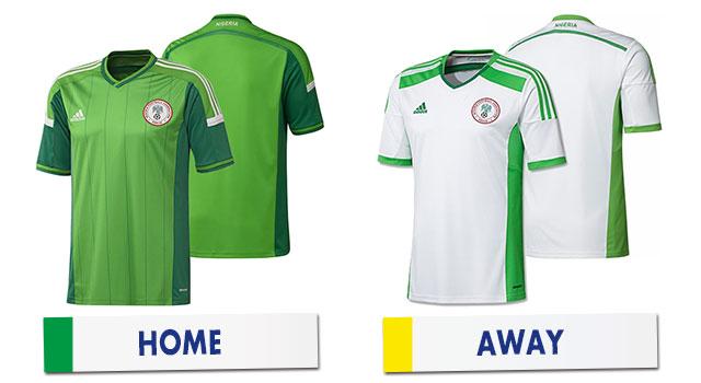 ブラジルワールドカップ ナイジェリア代表ユニホーム