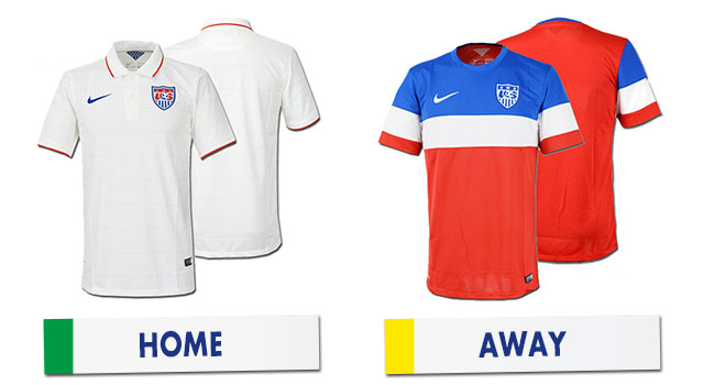ブラジルワールドカップ アメリカ代表ユニホーム
