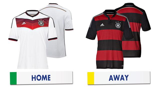 ブラジルワールドカップ ドイツ代表ユニホーム