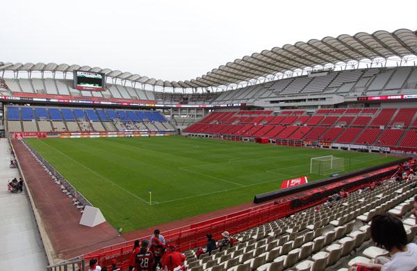 「茨城県立カシマサッカースタジアム」の画像検索結果