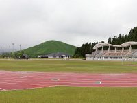 阿蘇市農村公園あぴか陸上競技場1