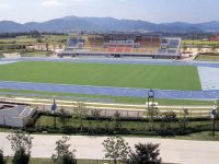 東広島運動公園陸上競技場(アクアパーク)1