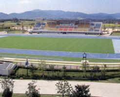 東広島運動公園陸上競技場(アクアパーク)