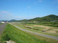 百間川緑地サッカー・ラグビー場1