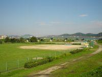 百間川緑地サッカー・ラグビー場3
