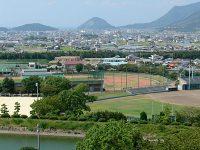 観音寺市総合運動公園陸上競技場2