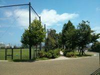 西南杜の湖畔公園球技場2