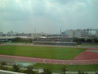 舎人公園陸上競技場1