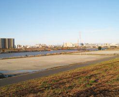 鹿浜橋緑地球技場
