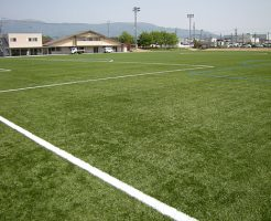 松本市サッカー場