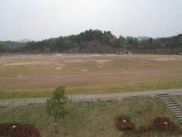 三ケ山緑地公園陸上競技場2