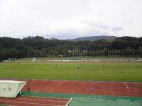 山城総合運動公園太陽が丘陸上競技場1