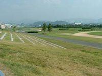 野洲川河川公園陸上競技場2