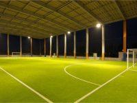 新潟聖籠スポーツセンターアルビレッジ屋根付きフットサルピッチ1