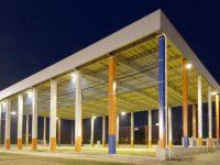 新潟聖籠スポーツセンターアルビレッジ屋根付きフットサルピッチ2