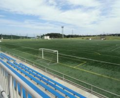 青森県フットボールセンター人工芝