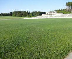 青森県フットボールセンター天然芝