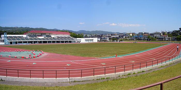 日立市民運動公園陸上競技場