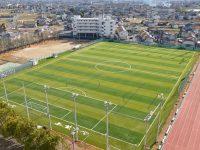 上武大学伊勢崎キャンパスサッカーグラウンド3