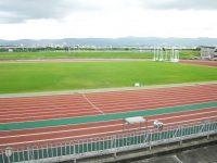 長岡市営陸上競技場1