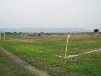 信濃川河川公園サッカー場1