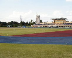 白井運動公園陸上競技場