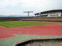 富山県総合運動公園陸上競技場1