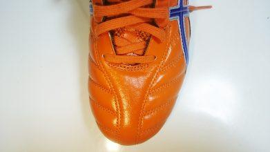 【アシックス】DSライト(オレンジ×ブルー)4