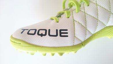 【アシックス】TOQUE 3 TF(ホワイト×グリーン)5