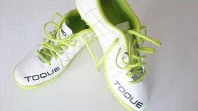 【アシックス】TOQUE 3 TF(ホワイト×グリーン)7