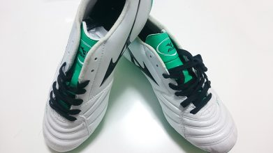 【ミズノ】スーパーソニックウエーブ3 MD(ホワイト×グリーン)3