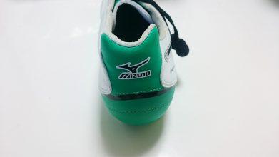 【ミズノ】スーパーソニックウエーブ3 MD(ホワイト×グリーン)9