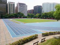 台北陸上競技場-ウォームアップエリア1