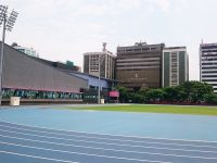 台北陸上競技場-ウォームアップエリア2