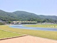 白谷海浜公園陸上競技場1