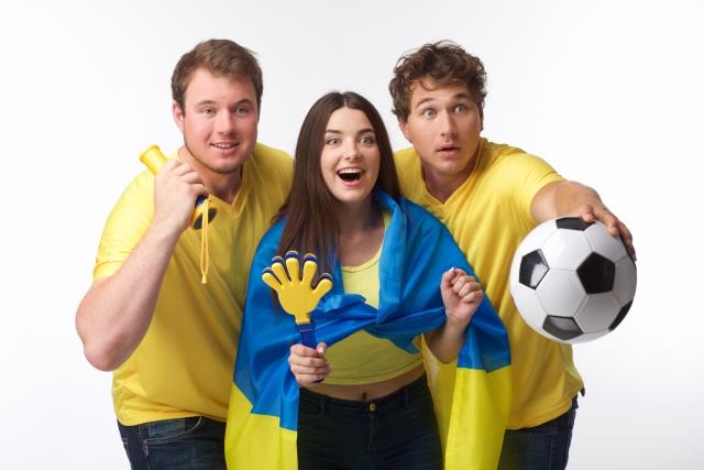 サッカーのサポーター